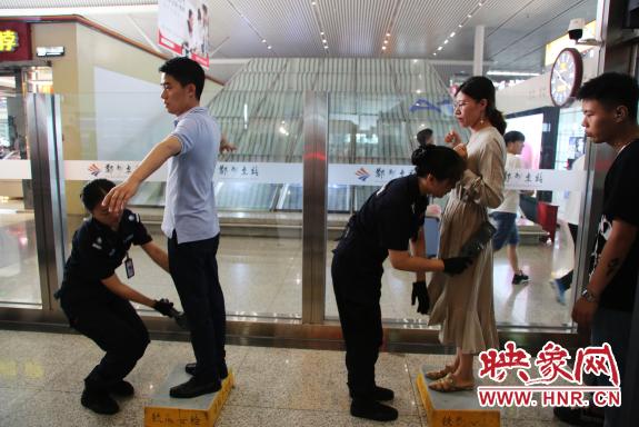 郑州东站二次安检即将实施 旅客需提前1至2小时到达车站