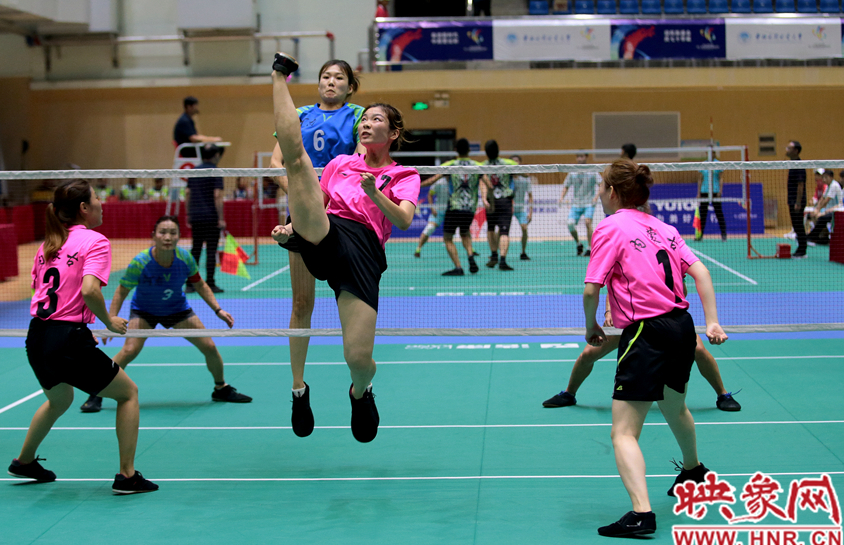 河南女子毽球队击败内蒙古队 时隔八年挺进八强
