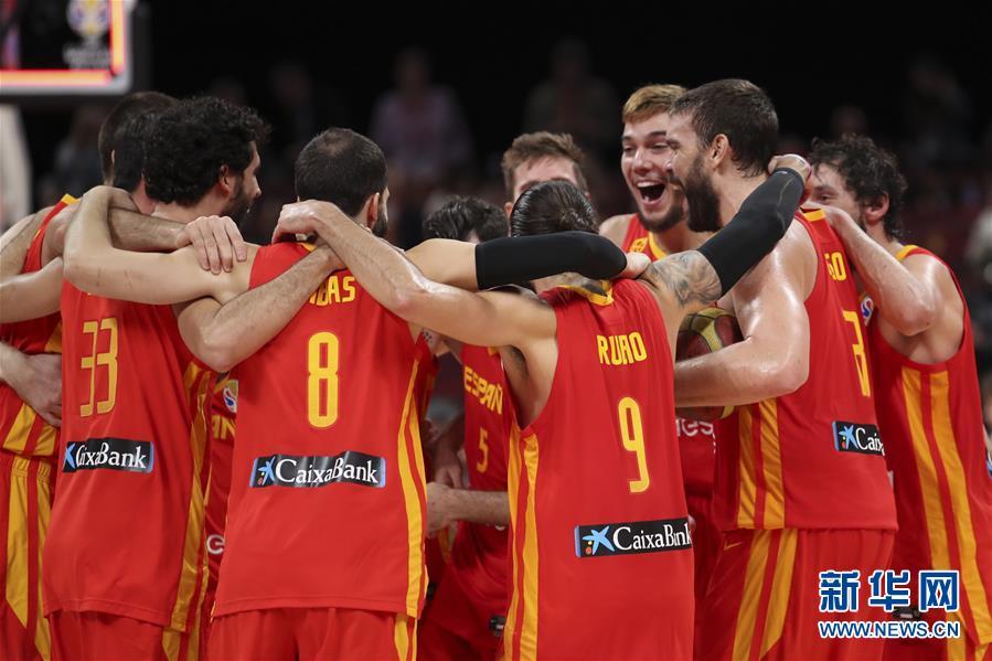 篮球世界杯 西班牙队战胜阿根廷队夺冠