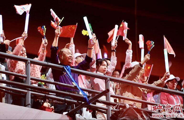 第十一届民运会闭幕式在郑州奥林匹克体育中心隆重举行