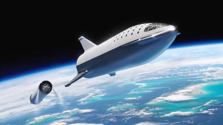 马斯克揭示星际飞船蓝图:六个月内入轨 明年进行载人飞行