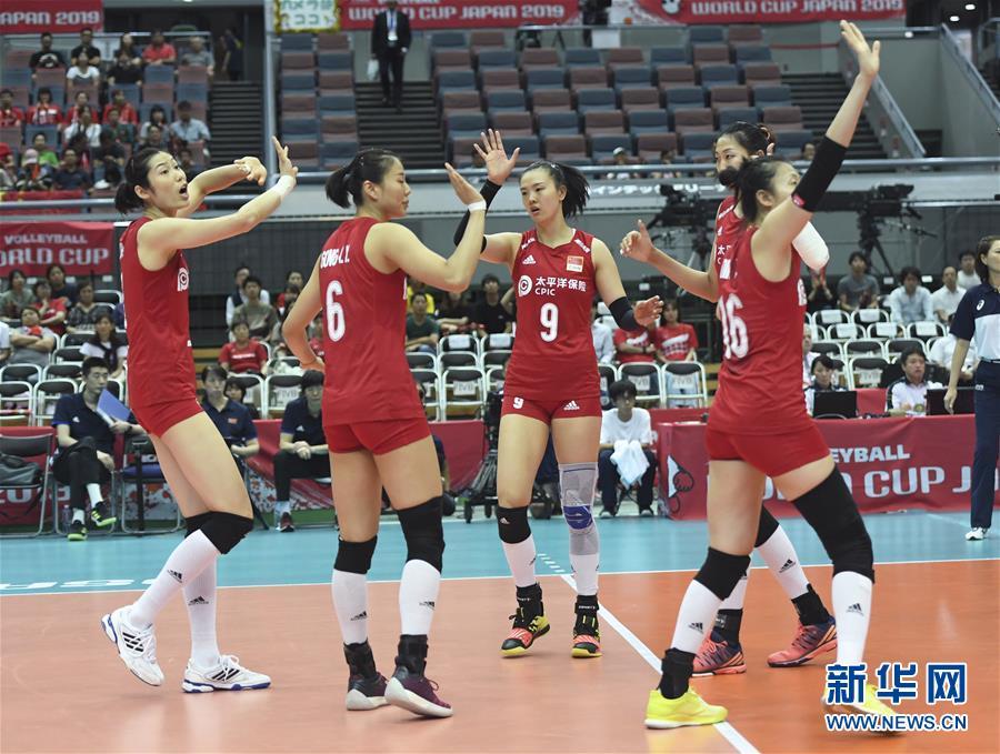 女排世界杯:中国队战胜阿根廷队取得十一连胜 成功卫冕