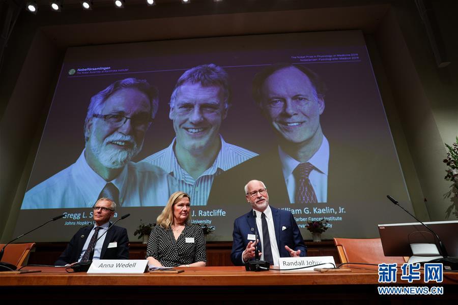 重磅!三名科学家分享2019年诺贝尔生理学或医学奖