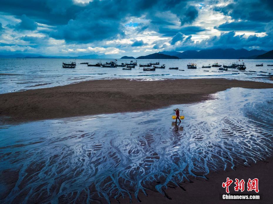 """""""中國最美麗的灘涂""""福建霞浦:風光美"""