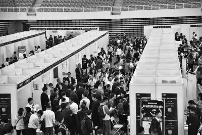 河南诚意满满:招才引智首场招聘上海举办 2238人初步达成就业意向