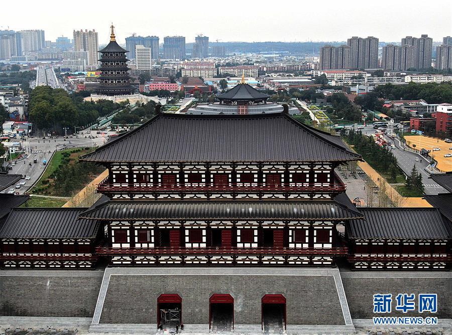 探访洛阳应天门遗址博物馆 始建于隋大业年间