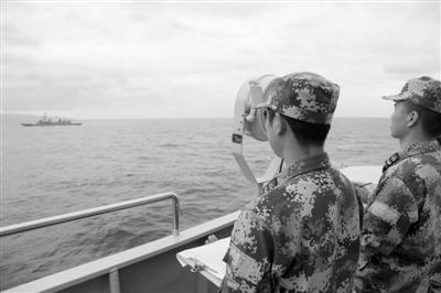 太原舰结束访日于东京晴海码头起航回国