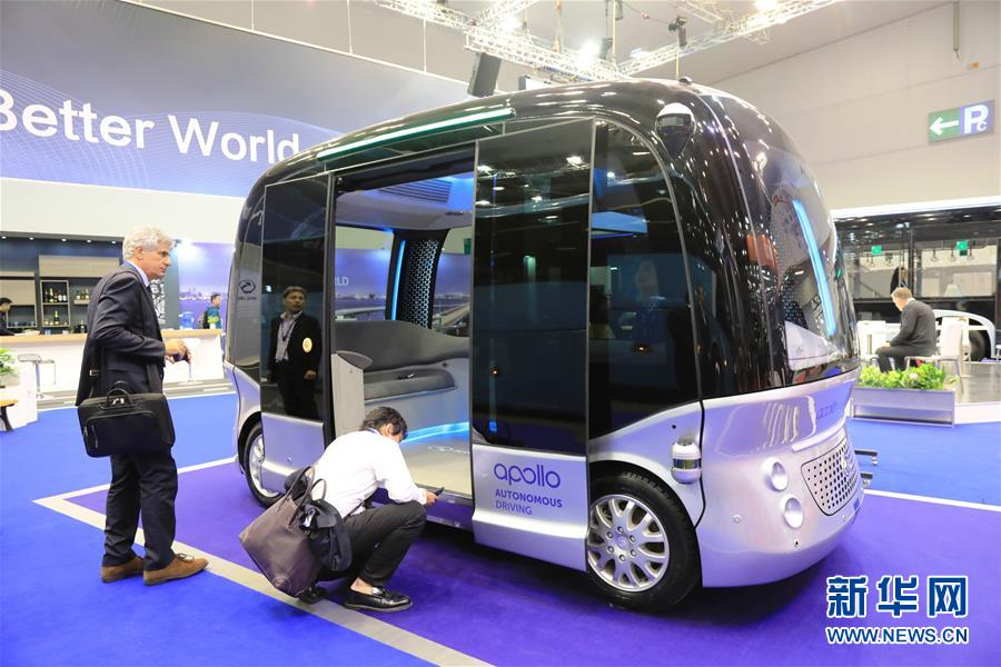 """布鲁塞尔车博会:中国客车""""抢眼""""世界客车博览会"""