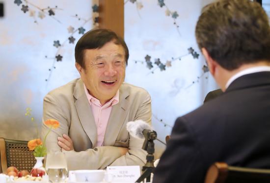 任正非接受日本媒体采访:华为5G领先只是暂时的 不赞成技术霸权