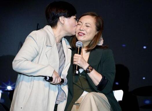 和好了!邓萃雯商天娥一吻泯恩仇!