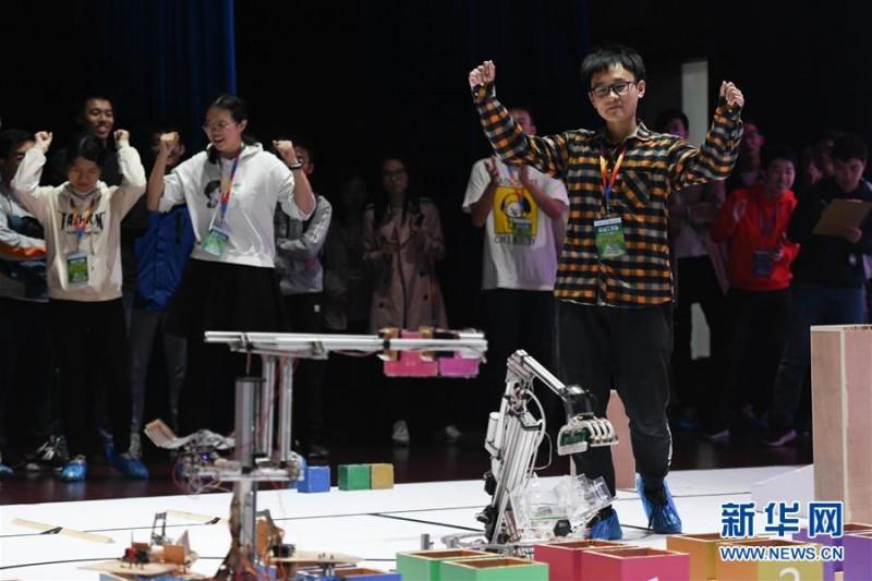 """中国科学技术大学:机器人""""越障救援""""大赛"""