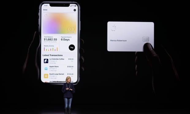 蘋果信用卡或有性別歧視? 高盛將接受調查