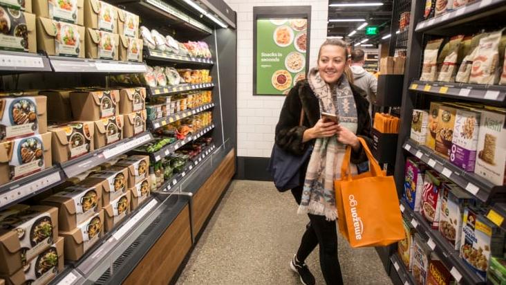 亚马逊拟2020年开设同名品牌杂货店 不会使用无人便利店技术