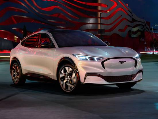 福特发布首款电动车 将成为特斯拉汽车的挑战者