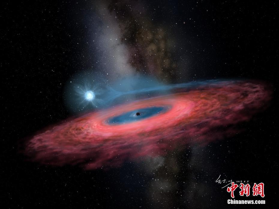 中国天文学家发现迄今最大恒星级黑洞 有望形成理论革新