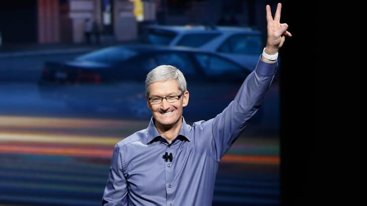苹果股价2019年飙升89% 市盈率接近25倍创十年来新高