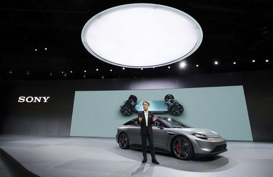 索尼发布概念电动车Vision S 传感器市场商机无限 索尼也要卖车了?