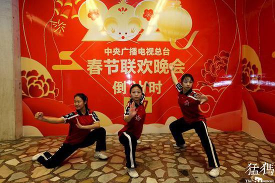 央视春晚唯一武术节目是咱河南的 因构思精妙获导演肯定