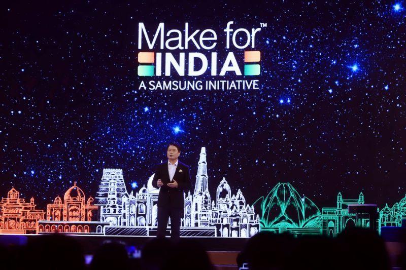 三星将在印度建智能手机显示屏厂 投资5亿美元