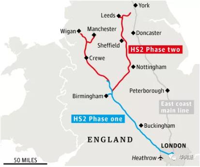 都12年了 英国555公里的高铁网不但没建好 还一直在涨价