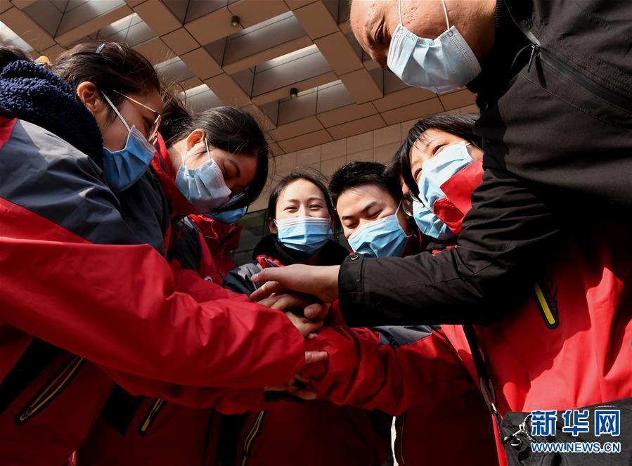 (聚焦疫情防控)(3)河南省第二批医疗队奔赴湖北