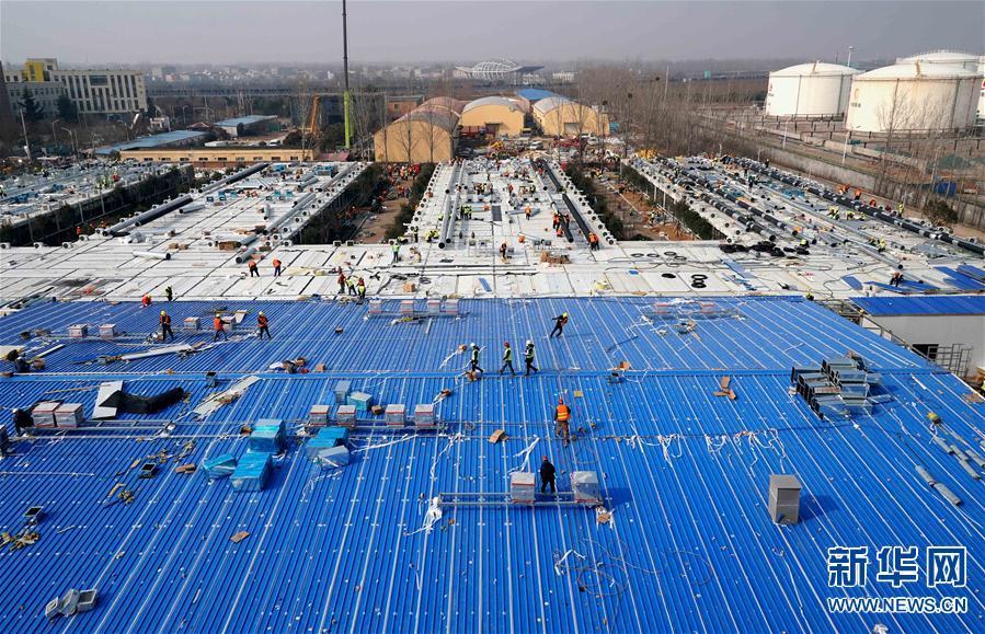 (聚焦疫情防控)(1)郑州市第一人民医院传染病医院即将建成交付
