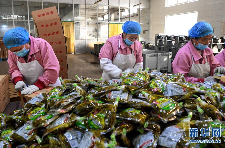 平顶山市郏县:做好疫情防控 有序组织工人复工生产