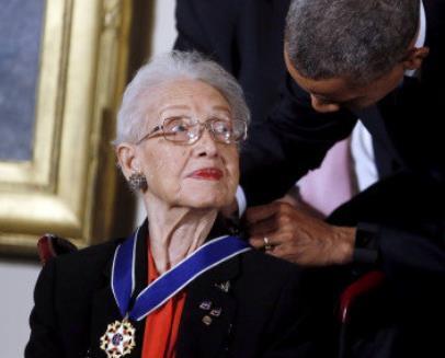 101岁NASA女数学家逝世 曾被奥巴马授予自由勋章