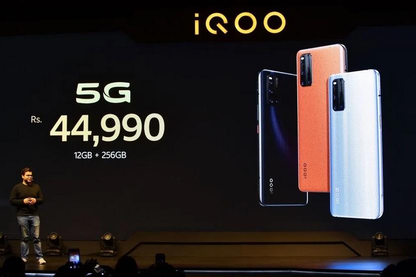 虽然还没大规模建网,小米、OPPO、vivo争相在印度推出5G手机