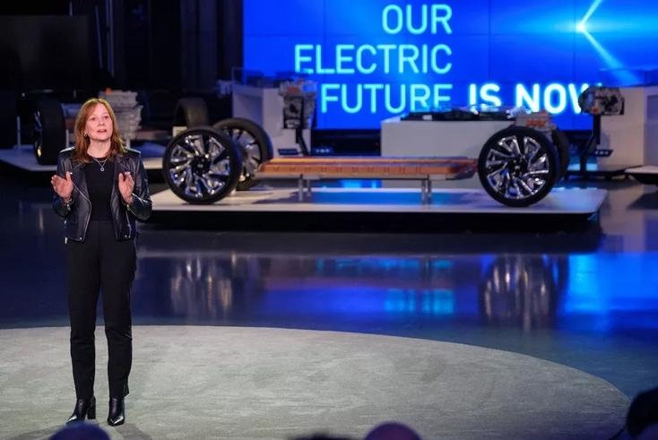 通用汽车发布新的电动车平台和电池 续航里程达约644公里