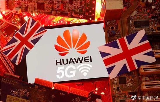 英國允許華為有限參與5G建設 市場份額不得超過35%
