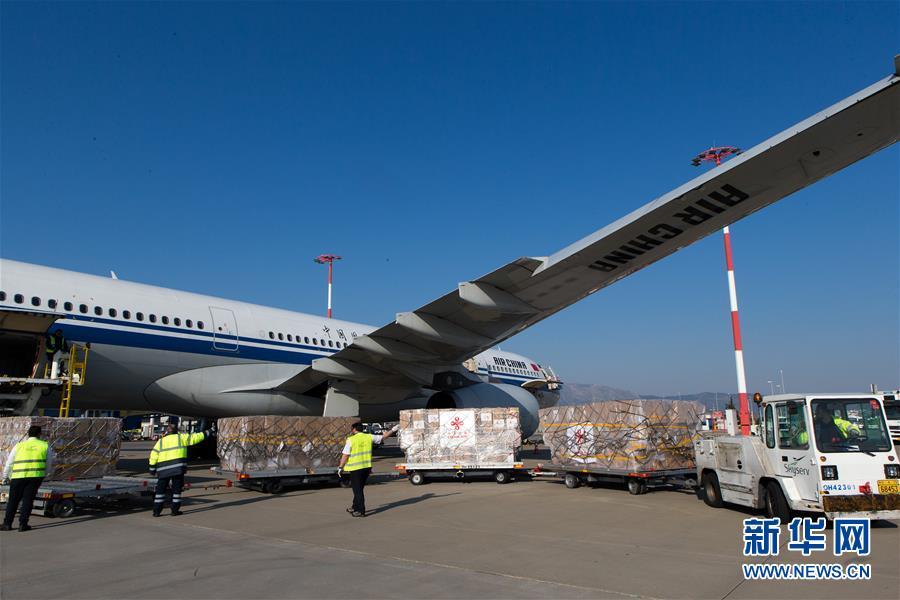 大国担当!中国向希腊援助抗疫医疗物资