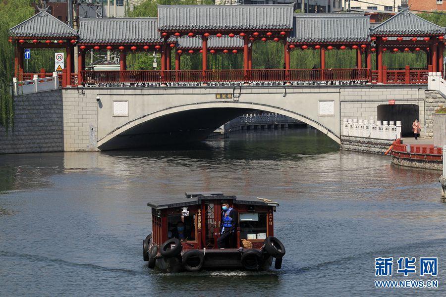 许昌市水上公交恢复运营 乘客人数不超过额定载客量的50%