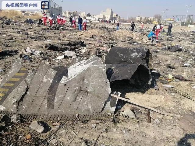 伊朗公布墜機報告:出現技術問題后向右轉