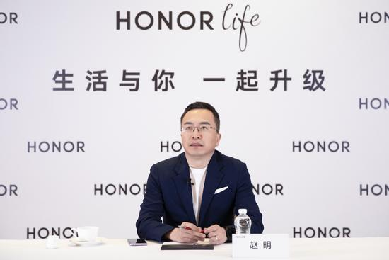 5G+IoT元年 荣耀总裁赵明:有信心冲击IoT品牌第一 底气何在?