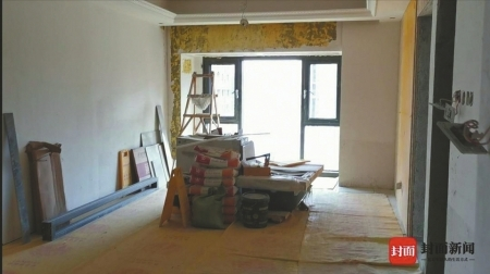 新房装了450天没完工、地暖还被砸坏 龙发公司:愿担部分损失