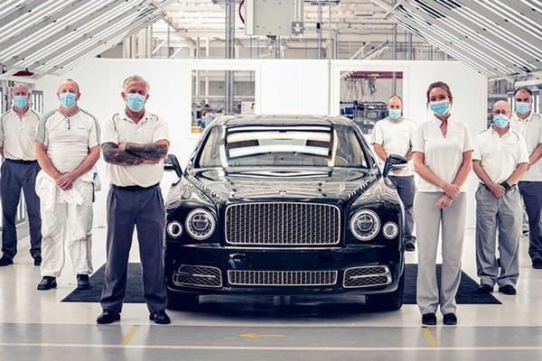 宾利慕尚正式停产 11年总共销售7300余辆 最后一辆6.75特别版