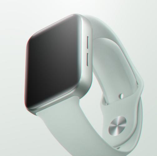 """魅族手表""""天青色""""曝光 正面采用了3D弧面玻璃制造"""