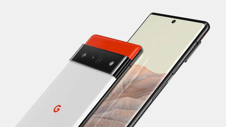 谷歌Pixel 6真机曝光 正面采用微曲面挖孔全面屏