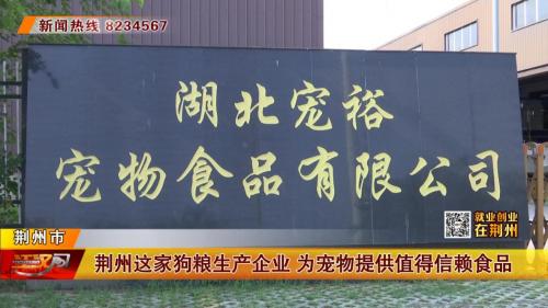 """荆州广播电视台对""""汪爵狗粮""""进行采访"""