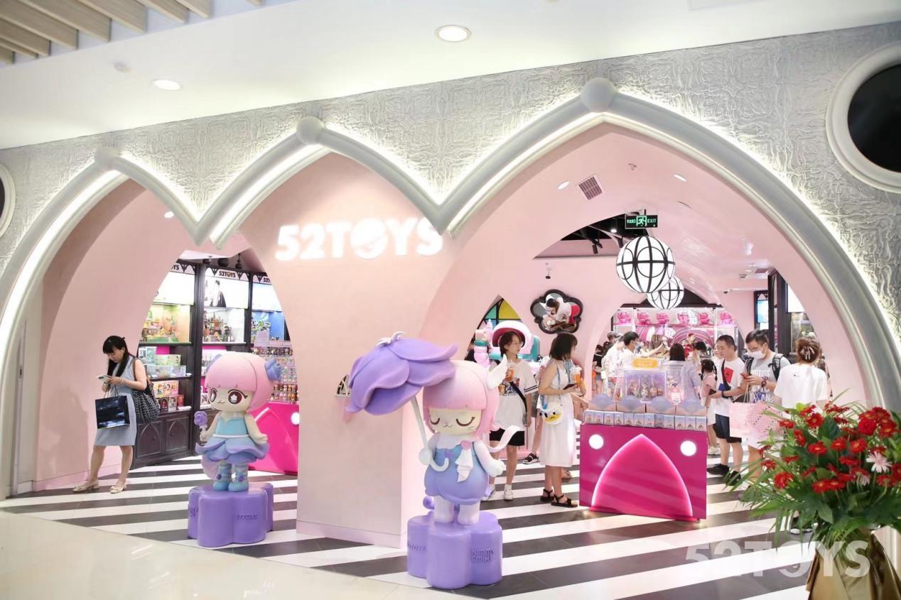 开业三天总销量破40万,52TOYS杭州in77品牌店开启玩家新体验