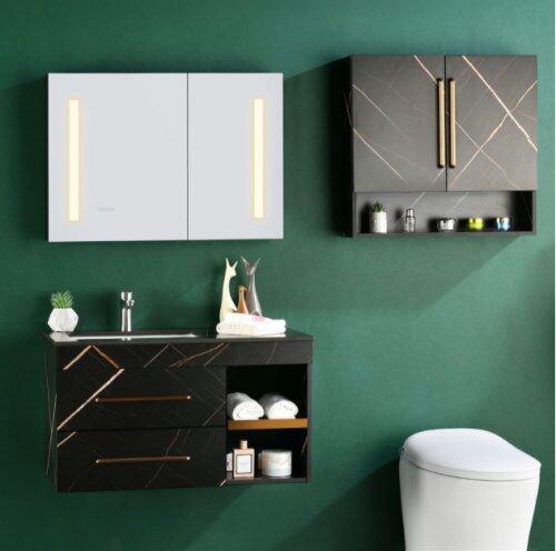 四季沐歌浴室柜:一款能補光能除霧的高顏值浴室柜