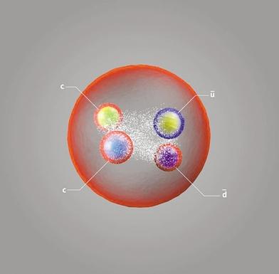 """欧核中心发现迄今""""最长寿""""奇异粒子 会衰变成一对介子"""