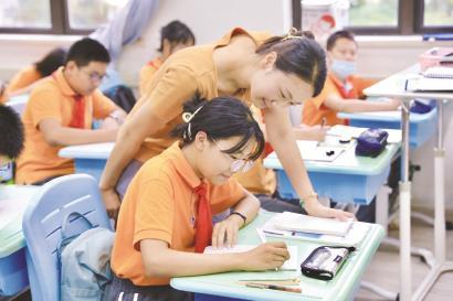 申城中小学:一把钥匙开一把锁 激发自主学习热情