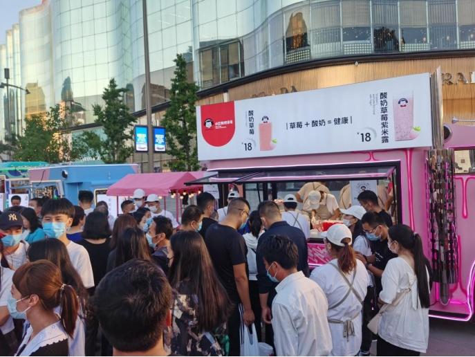 """K22.酸奶草莓0折扣0宣传,一开业就成为北京""""排队王"""""""